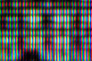 television screen close-up