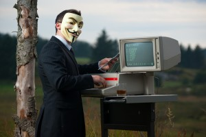Anonymous Internet guy, courtesy Stian Eikeland